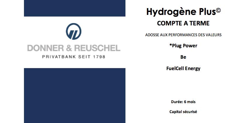 livret d'investissement Hydrogene Plus