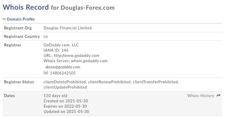 Whois douglas-forex.com