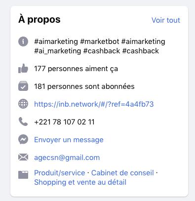 Facebook ai.marketing
