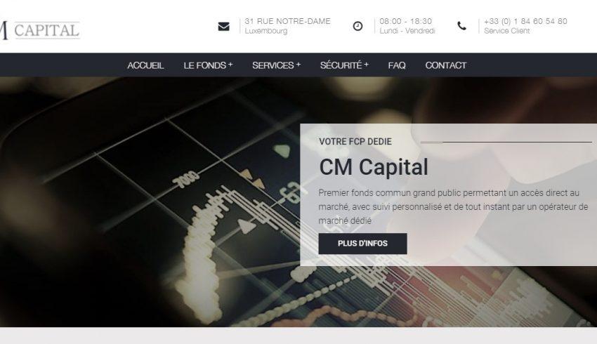 Cmcapital-lu.com et Rdf-investissement.com : Deux sites, UN groupe d'escrocs